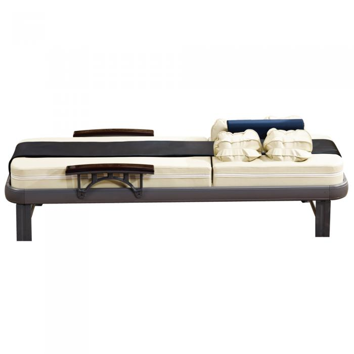 Shiatsu and air pressure massage bed